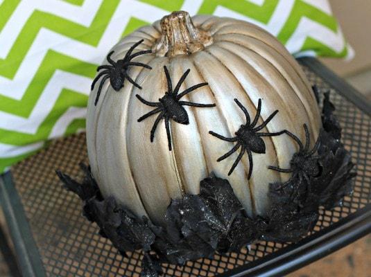 Spooky Spider Pumpkin2
