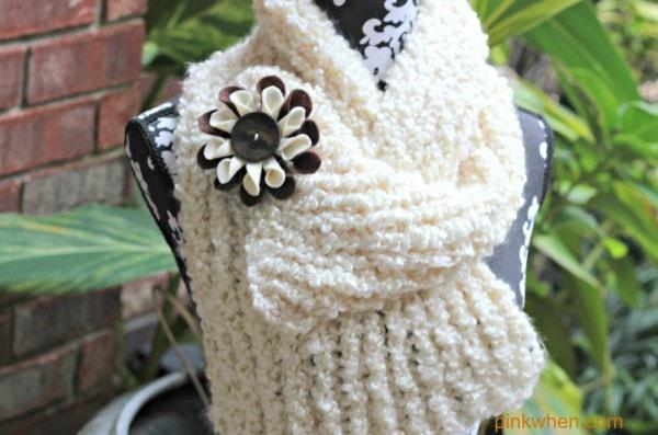 Felt Fabric Flower Tutorial using a teaspoon, scissors, and hotglue!