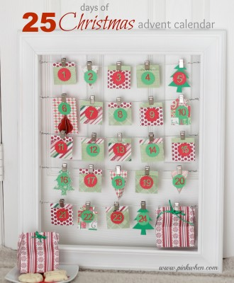 25 Days of Christmas Advent Calendar with Silhouette America
