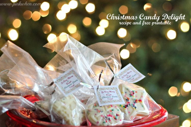 Christmas Candy Delight Free Printable