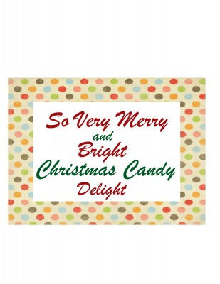 Christmas Candy Tag and Free Printable from PinkWhen.com