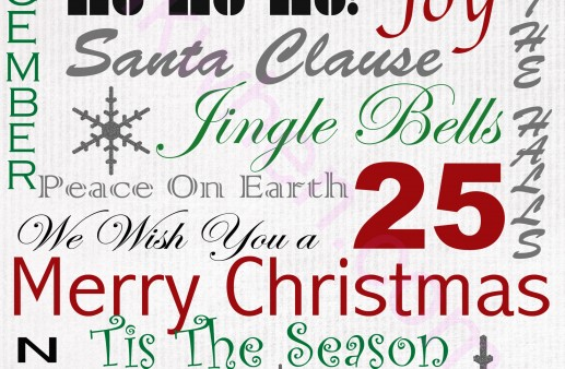 Have A Very Merry Christmas Free Printable