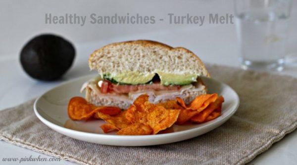 Healthy Sandwiches Turkey Melt