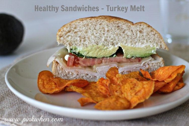 Healthy Turkey Sandwiches Pinkwhen