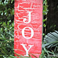 JOY Subway Art Sign