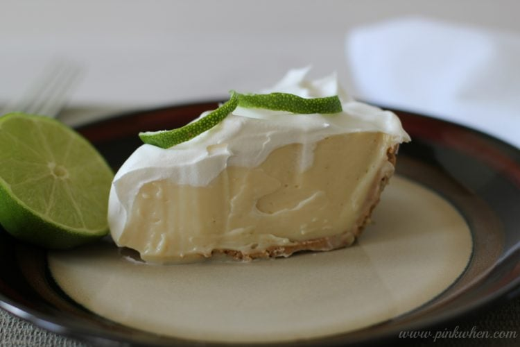 Key Lime Pie Recipe - PinkWhen