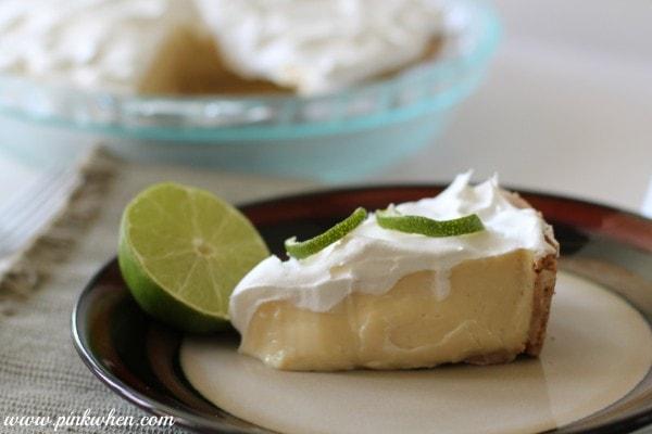 Key Lime Pie via PinkWhen.com