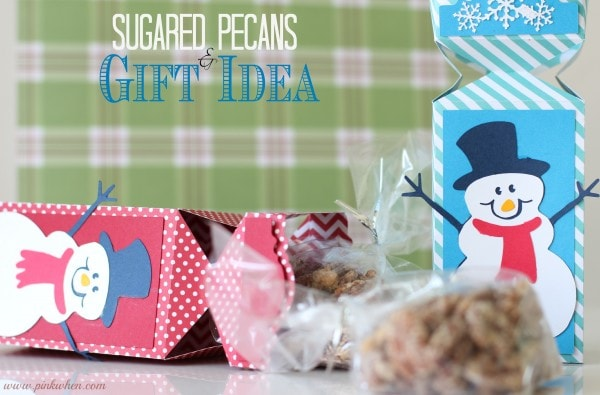 Sugared Pecans Gift Idea from PinkWhen.com