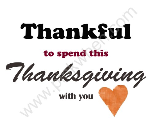 Free Printable for Thankful Thanksgiving available without watermark