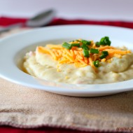 How to Make a Simple Baked Potato Soup Recipe