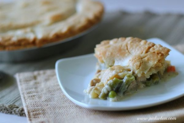 Delicious Turkey Pot Pie Recipe at PinkWhen.com