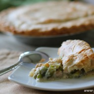 Delicious Turkey Pot Pie (From Thanksgiving Leftovers!)