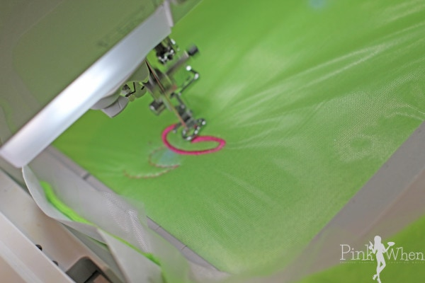 Embroidering Fleece for Ear Warmer Headband