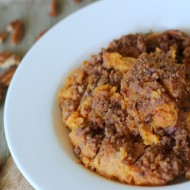 Sweet Potato Casserole Gourmet Recipe & Holiday Baking