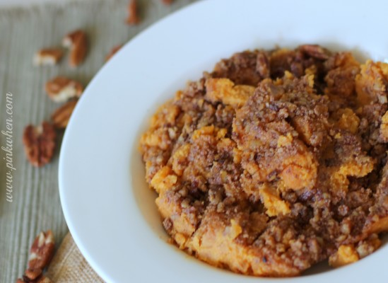 Gourmet Sweet Potato Casserole and Holiday Baking #HolidayButter #cbias #shop