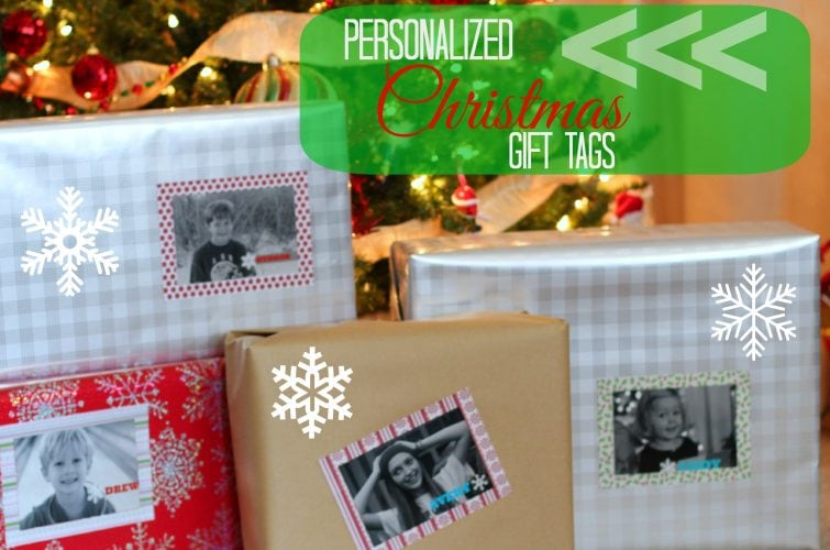 Personalized Christmas Gift Tag - PinkWhen