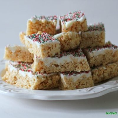 Rice Krispie Treats Recipe and Christmas