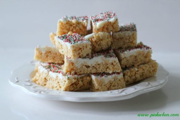 Rice Krispie Treats Christmas Recipe