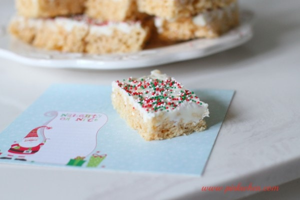 Rice Krispie Treats Recipe for Christmas