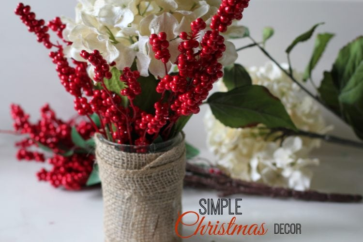 Simple christmas home decorations for Minimalist xmas decorations