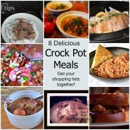 8 Delicious Crock Pot Meals
