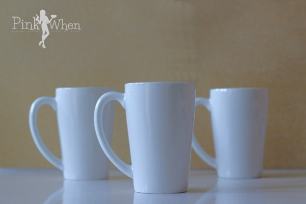 DIY Blank Mugs
