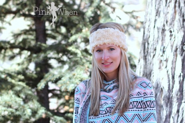 Simple DIY Minky Ear Warmer Headband Tutorial