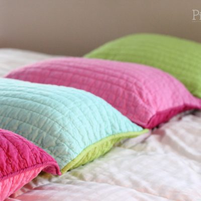 DIY Pillow Bed Tutorial