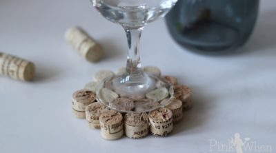 DIY WIne Cork Drink Coaster