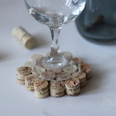 DIY Wine Cork Drink Coaster Tutorial