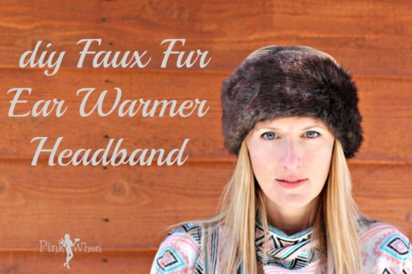 Fur Ear Warmer Headband Tutorial