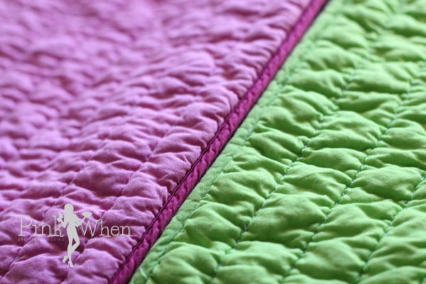 Sew Pillow Shams together for a DIY Pillow Bed via PinkWhen.com
