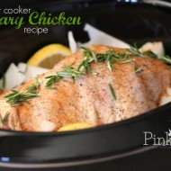 Slow Cooker Rosemary Whole Chicken Recipe