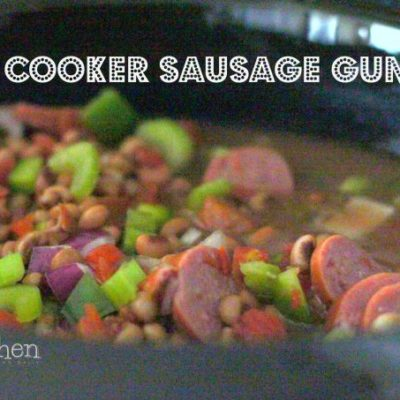 Slow Cooker Sausage Gumbo Recipe