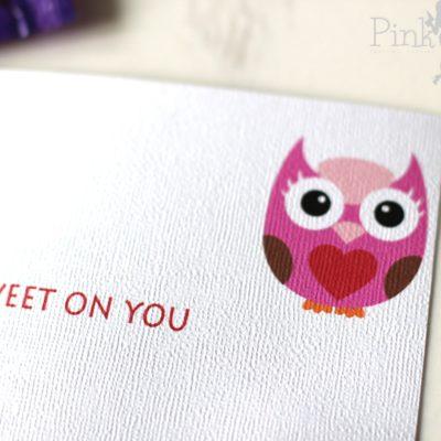 Sweet on You Valentine Printable