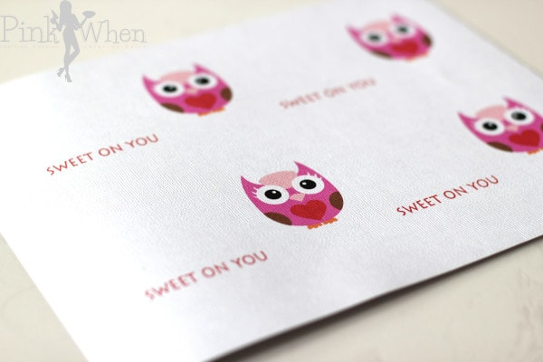 Sweet On You Valentine Printable