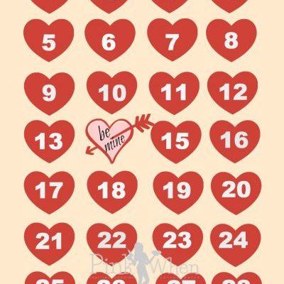 Valentine Be Mine Free Printable