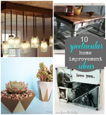 10 spectacular diy ideas pinkwhen Home improvement ideas