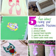 5 Fun Projects Using a Silhouette Machine