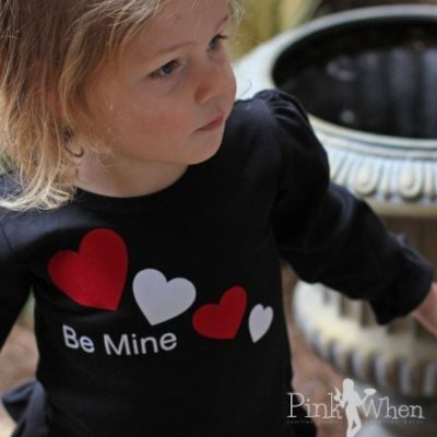 Be Mine Girls Valentine Shirt