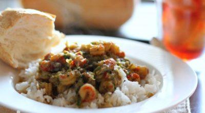 Cajun Southern Louisiana Crawfish Etouffee Recipe via PinkWhen.com