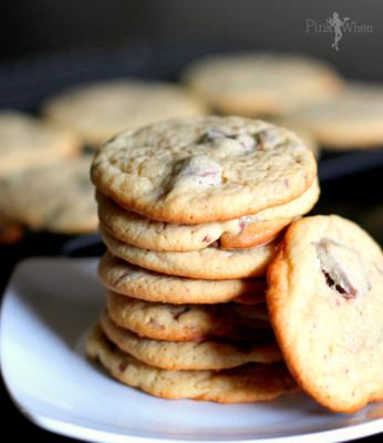 A delicious and unique Chocolate {Huckleberry} Chip Cookies Recipe