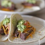 Filet Mignon Soft Tacos Recipe perfect for Cinco De Mayo! | PinkWhen.com