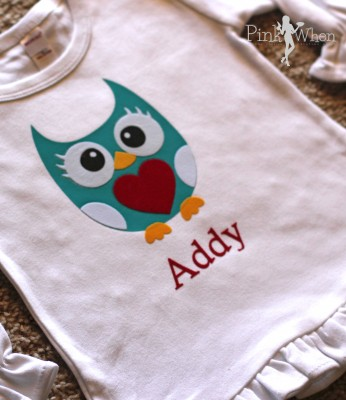 Girls Owl Valentine Shirt