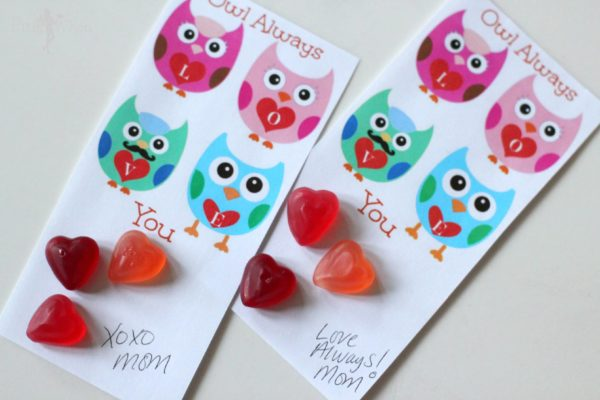 Owl Always Love You Sweet Valentines Day Free Printable