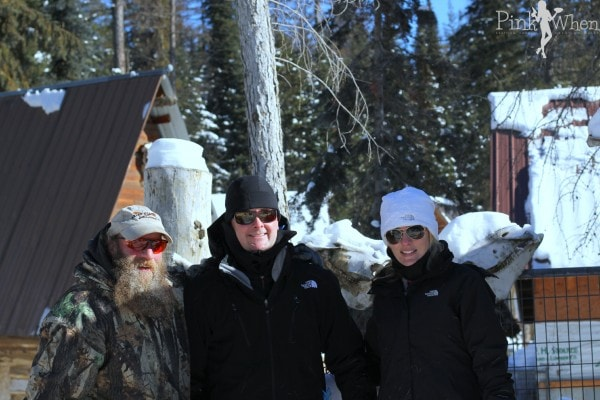 Us and owner of dogsled company Whitefish,MT
