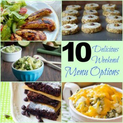 10 Delicious Weekend Menu Options