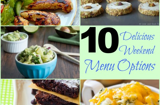 10 Delicious Weekend Menu Options