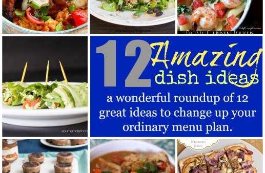 12 Amazing Dish Ideas to help change the ordinary meal plan into the extraordinary meal plan!