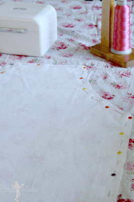 DIY Vintage Apron Pattern making